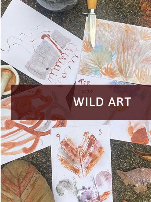 Wild Art at Keppel Hill Reservoir Forest
